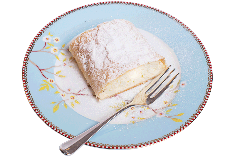 Curd Cheese Strudel