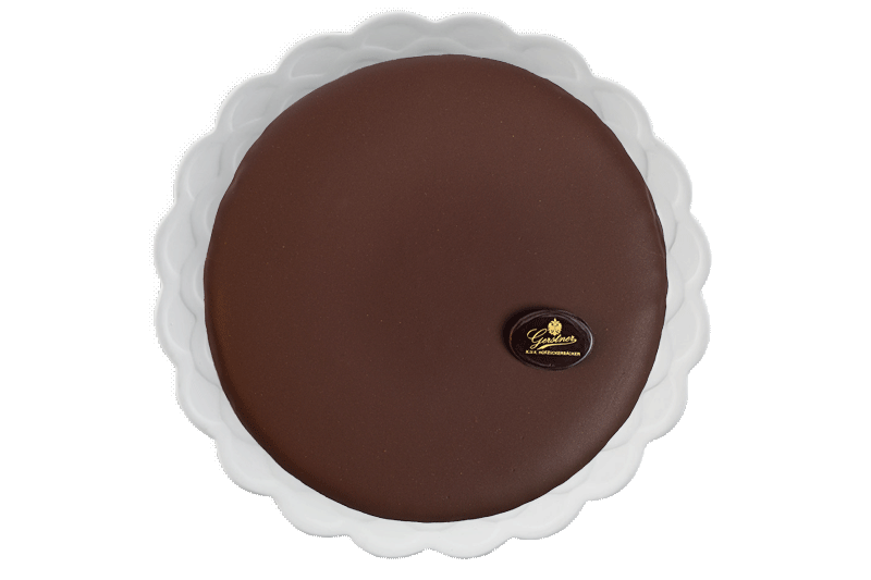 Sachertorte 12 cm in wooden box