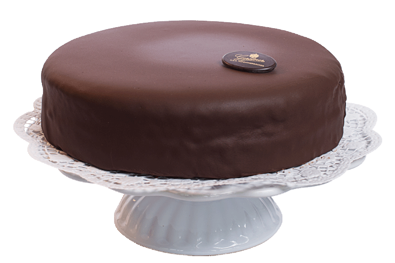 Sachertorte 24 cm in wooden box
